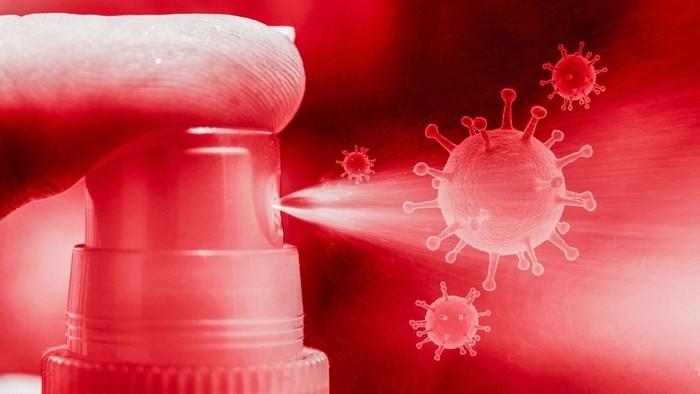 desinfectantes poco efectivos contra el COVID-19