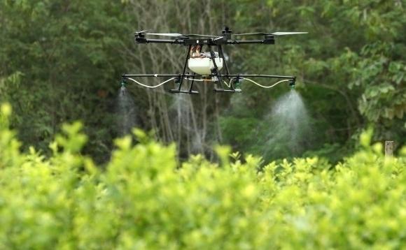 fumigacion-de-cultivos-con-drones