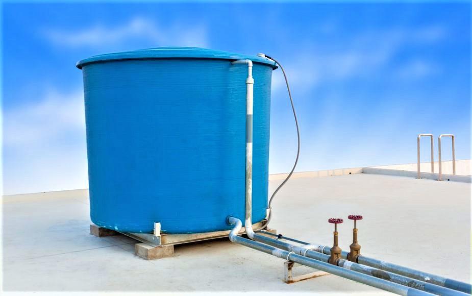 Tanque de agua para el hogar
